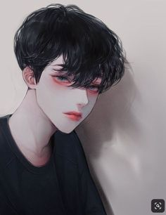 The main character always ends up with the male lead? Korean Anime, Korean Art, Cute Anime Boy, Anime Art Girl, Manga Boy, Manga Anime, Anime Boy Zeichnung, Handsome Anime Guys, Guy Drawing