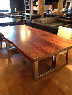 This is the dining room table we plan to buy!