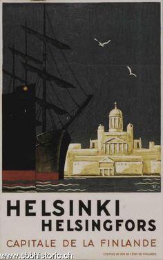 Helsinki. Helsingfors, Capitale de la Finlande