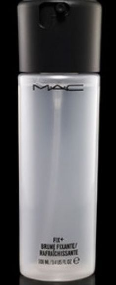 MAC FIX+ makeup setting spray. I love this!!!! So Dewey!!!! $21 Mac