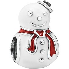 Pandora 925 Silver Charms 791406ENMX ** Click image to read more details.