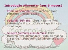 Introdução Alimentar dos bebês: Dicas e Orientações - Maternidade Colorida