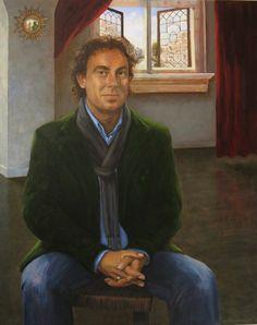 Portrait of Dutch singer Marco Borsato