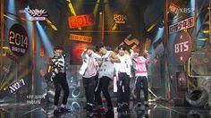 141024 Music Bank #방탄소년단(BTS) - 호르몬 전쟁 by플로라 #BTS500Days #BTS