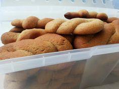 Greek Sweets, Greek Desserts, Greek Recipes, Greek Cookies, Eat Greek, Pastry Cake, Most Favorite, Biscuits, Brunch