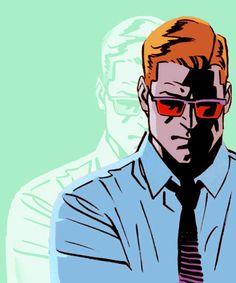 """Sometimes I think I was born to be Daredevil — and Matt Murdock is the identity that's not for real!"""