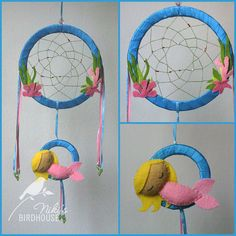 Dream Catcher with a Mermaid - On Etsy