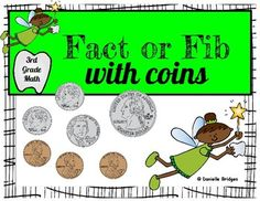 Fact or Fib with Money Digital and Printable... by The Digital Daydreamer | Teachers Pay Teachers
