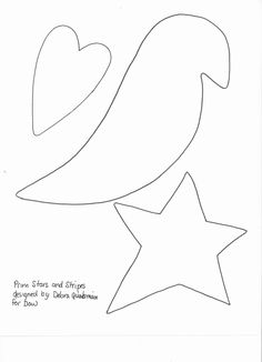 Crow Patterns Sewing | Make a prim & patriotic flag for July 4th | Crafts 'n Coffee
