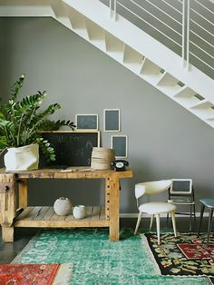 designs that inspire to create your perfect home - I like the way the rugs overlap