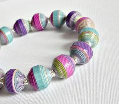 Stunning paper beads ♥ absolutely gorgeous