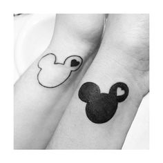 fuck yeah, disney tattoos ❤ liked on Polyvore