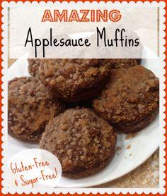 Amazing Applesauce Muffins (Crossover) Gluten-free