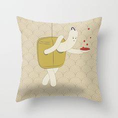 f a c c i a a d o n d o l o Throw Pillow