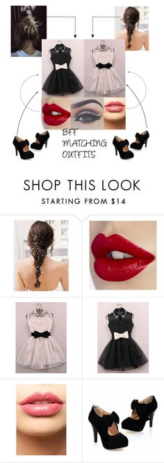 """""""❀ BFF MATCHING OUTFITS ❀"""" by punkrockkitten ❤ liked on Polyvore featuring LASplash and Bellezza"""
