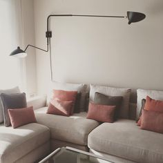 Serge Mouille Two Arm Wall Lamp http://www.zoralighting.com/designer/serge-mouille/serge-mouille-two-arm-wall-lamp