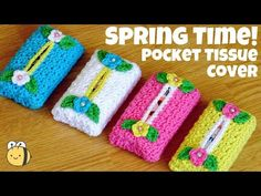Bead Crochet Rope, Crochet Art, Crochet Bunny, Irish Crochet, Crochet Flowers, Crochet Pouch, Crochet Gifts, Knitting Stiches, Knitting Patterns Free