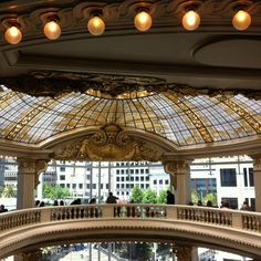 Rotunda Restaurant in Neiman Marcus, San Francisco, great lunch place while shopping Union Square