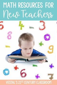 New teachers can easily spend hours researching and planning lessons   each week. Having a few go-to resources can significantly cut down on   that time. Here are my top math resources all new teachers need to know! #vestals21stcenturyclassroom #mathresources   #mathresourcesfornewteachers #mathresourcesforteachers #mathwebsites   #newteachers #firstyearteachers #mathworksheets