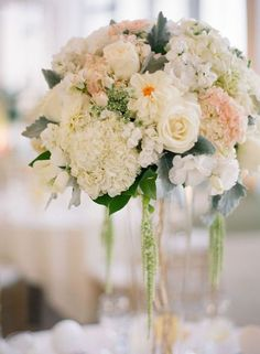 Featured Photographer: Esther Sun Photography; Wedding reception centerpiece idea.