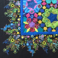 Wendy's quilts and more: la Passacaglia - how I attached my borders