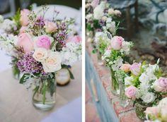 Centros de mesa florales para tu banquete de matrimonio Image: 8
