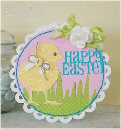 Just in time for Easter #GlueArts has this sweet card from Designer @Kristen Swain. Details on our blog!