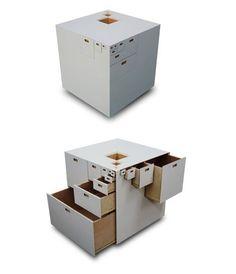 Modular Drawer System By Takeshi Miyakawa