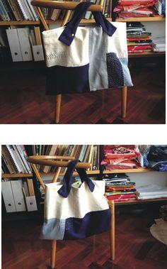 Mi primera bolsa con Sashiko. R. Belda