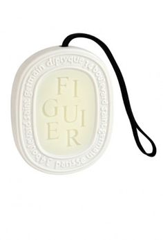 Figuier Scented Oval ~ Bring life to a closet, drawer,you decide and let Diptyque do the rest!