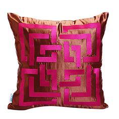 Nowością prostokątny haft pokrycie dekoracyjne poduszki – USD $ 29.99