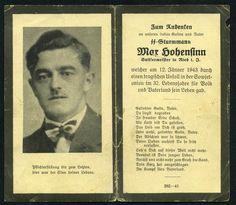 orig. WK2 STERBEBILD - DEATH CARD - ELITE SOLDAT - UNFALL - RIGA / LETTLAND 1943