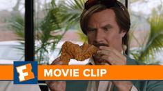 "Anchorman 2 ""Chicken of The Cave"" Clip | Movie Clips | FandangoMovies"