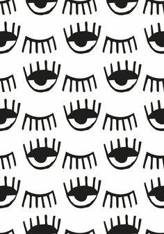 чёрный, Кьяра Ферраньи, глаз, iphone, обои, белый