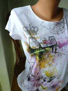 68 Best painting t-shirt images  eec06cd941