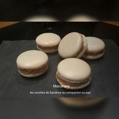 Macarons (recipe for cockles with companion or other robots) - Sandrine& recipes with companion or not - - Macaron Thermomix, Robot Thermomix, Perfect Cheesecake Recipe, Cheesecake Recipes, Cooking Chef, Fun Cooking, Cooking Recipes, Dessert Companion, Macaron Caramel