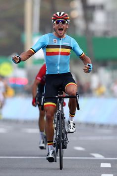 Greg van Avermaet wins Gold in the Men's Road Race Rio 2016 Olympic Games /Getty Images