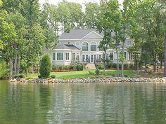 Lake house in South Carolina