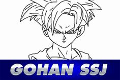 Cómo dibujar a GOHAN SSJ - Dragon Ball Z - How to draw Gohan #anime #manga #gohan #gohanssj #dragonball #dbz #dragonballsuper #draw #drawing #dibujo #dibujar