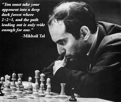 Mikhail Tal #chess