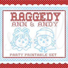 Raggedy Ann (& Andy) Party