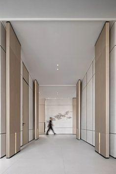 Modern Office Design, Modern Interior Design, Modern Offices, Corporate Interiors, Office Interiors, Lobby Interior, Interior Architecture, Floor Design, House Design