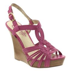 Seychelles Midas Touch High Wedge Sandals ($60) ❤ liked on Polyvore