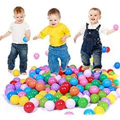 Colorful Plastic Ball Pit Balls Baby Kids Tent Swim Toys Ball Pool Ball Ocean Ball * Click image for more details. (This is an affiliate link) Baby Toys, Baby Play, Toddler Toys, Kids Tents, Baby Swimming, Pool Toys, Gifts For Kids, Soft Plastic, Colorful