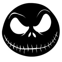 Jack Skellington Die Cut Vinyl Decal PV711 for Windows, Vehicle Windows, Vehicle Body Surfaces or just about any surface that is smooth and clean!