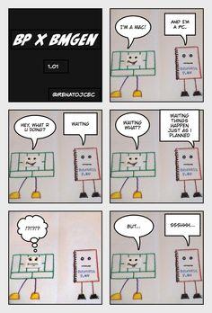 BP vs #bmgen 1.01 now @ BMGen Comics #custdev #leanstartup