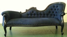 Black On Rock Star Chaise Lounge Sofa