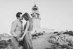 Destination Wedding Photographer // Engagement in Mykonos