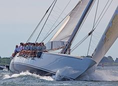 J-Class Yachts- Ranger and Velsheda 2011 Regatta in Newport Day 1: Photo Gallery - from CupInfo