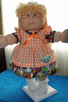 SOLD Baby Doll Clothes, Baby Dolls, Cabbage Patch Kids, Bake Sale, My Design, Childhood, Challenges, Cabbages, Sewing